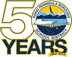 KPBSD 50 years logo