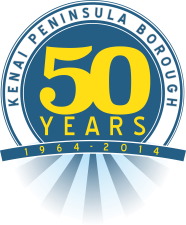 50th anniversary logo for kpb
