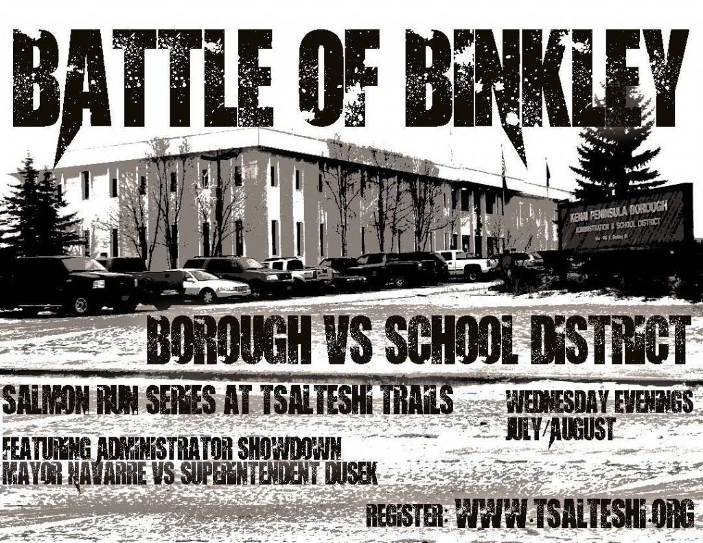 Battle of Binkley flyer