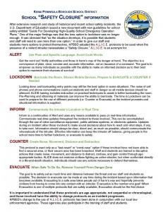 2015 KPBSD School Safety Closure information