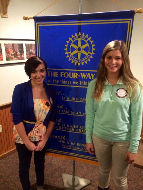 KCHS students, Kyla and Amber homelessness presentation to Soldotna Rotary #advocacy