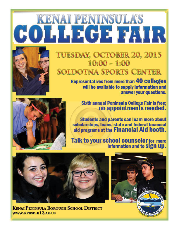 2015 college fair flyer