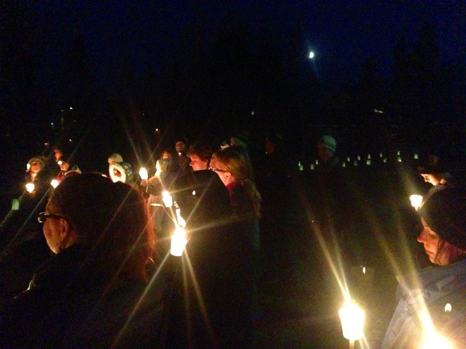 2014 Candlelight Vigil