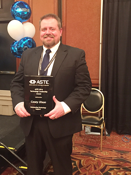 Casey Olson, 2016 ASTE Tech Support of the Year 2016 sm