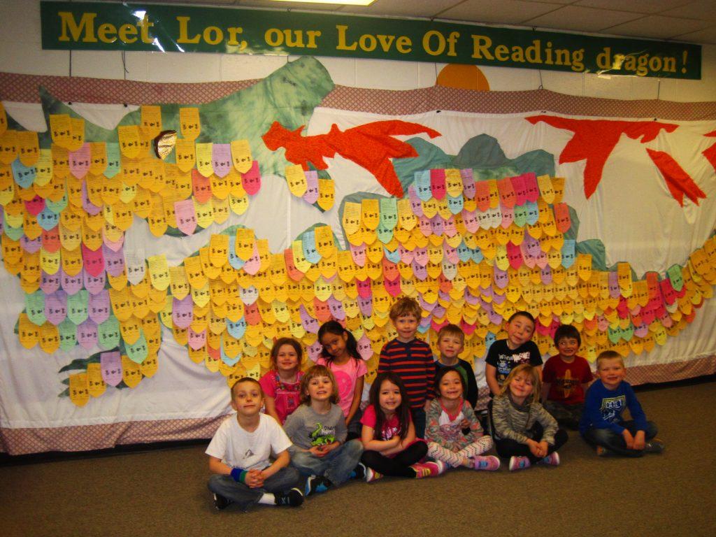 McNeil LOR dragon and Kindergarteners