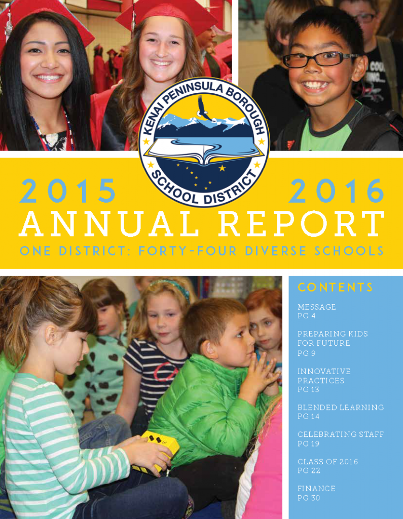 FY16 KPBSD Annual Report (1)