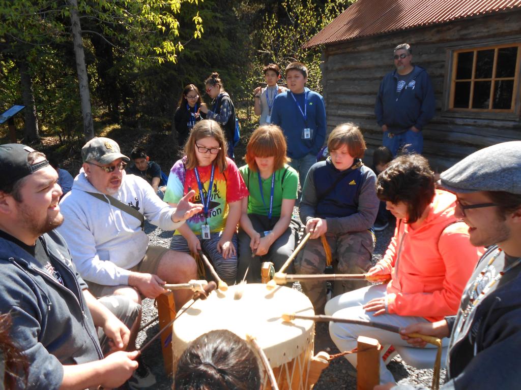K'Beq Heritage Site Drumming