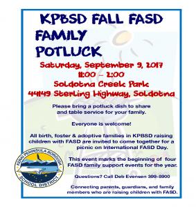 2017 August FASD potluck