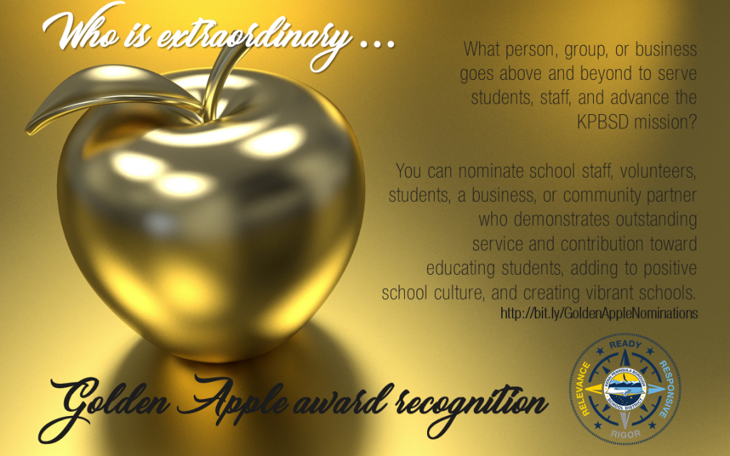Golden Apple nomination