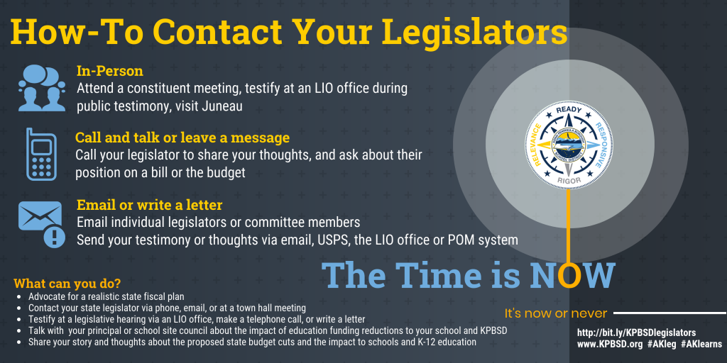 2019 How to contact your state legislator
