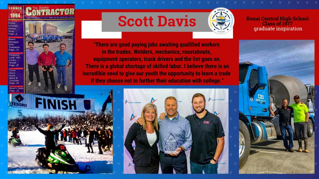 Scott Davis KPBSD graduate profile
