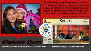 Stephanie Queen KCHS Class of 2000