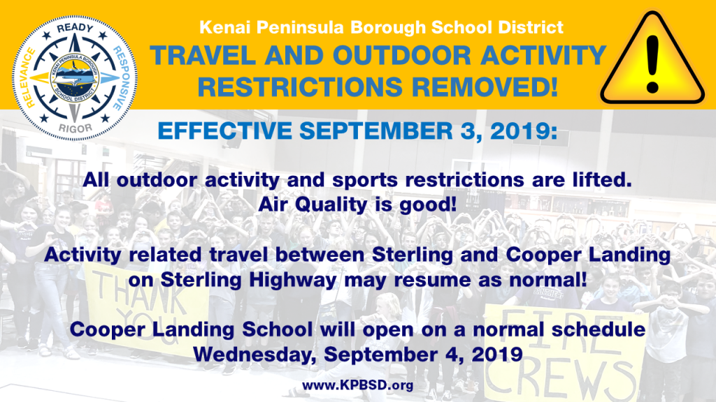 2019-09-03 sports and activity travel restriction removed