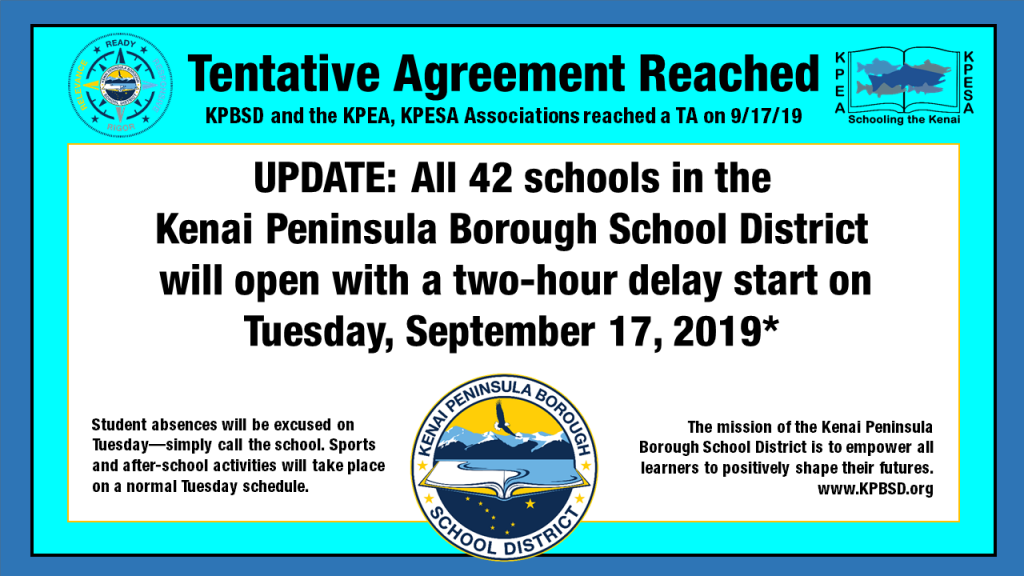 2019-09-17 Tentative Agreement Reached