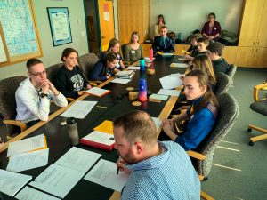 Huge thanks to the Alaska Sea Life Center for opening their facility, to KPBSD, for the 2019 Borough-Wide Student Council Meeting.